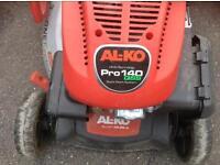 Al-KO Pro 140 QSS petrol lawn mower.