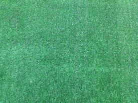 Artificial grass roll end 2.3 X 4 m brand new, heavy quality, bargain £138