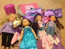 Design a Friend Dolls & Accessories (will split if required)