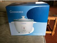 Cook works 1.5L rice cooker