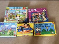 Jigsaws and Games for 3 - 5 year olds