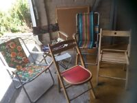 Collection Folding Chairs