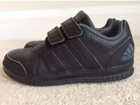 Adidas Black Velcro Strap Childrens Trainers (Size 13)