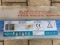 Aqualux Aqua 45 stone resin shower tray brand new