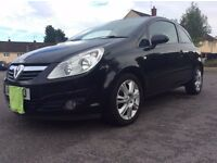 vauxhall corsa d design 1.4 with histroy