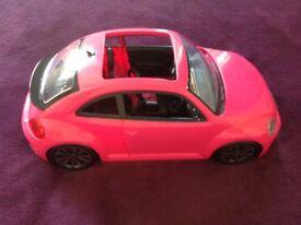 Barbie 'Volkswagen Beetle' Car