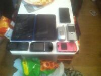 Phones and tabs
