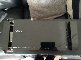 Vibe black box bass 4 1800 watt amp unused