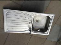 Kitchen sink x 2 with taps