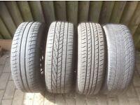 Wear tyres