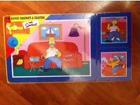 Placemat and coaster set - Homer/The Simpsons - £15.00 ono (never been used or opened)