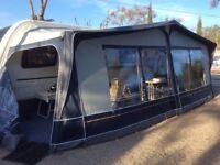 Dorema Montana Super Lux Blue Caravan Awning Size 17 1050-1075
