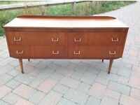 Vintage Retro Sideboard / Chest of Drawers