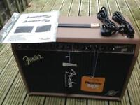 Fender Acoustasonic 150 amp and Tiger amp stand