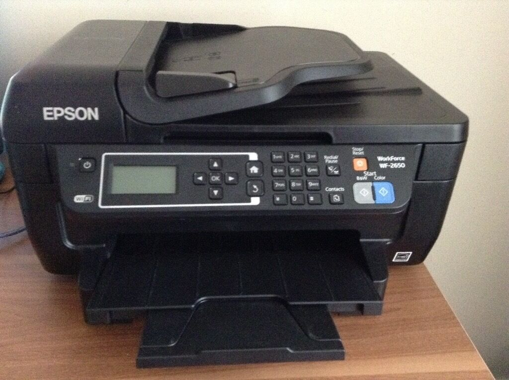 Epson Work Force WF-2650 Color