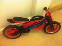 Boys wooden balance bike