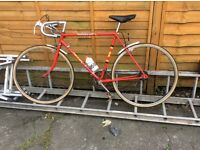 Reduced Classic BSA Race bike just serviced rideable perfect