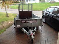 Brian James CarGO Shifter single axle 8 x 4 trailer.