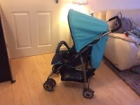 Lovely stroller for sale. Hardly been used.