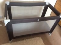 Travel cot. Excellent condition, only used a few times.