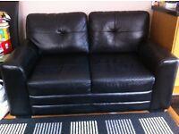 2 Seater Sofa - Compact & Stylish