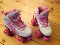 Rio Pure Rollerskates in Pink/White