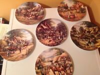 """Wedgewood pottery plate collection """"country days"""""""