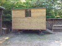 Handmade Shephards Hut
