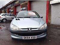 Low mileage Peugeot 206 1.1 mot until May ideal first time car