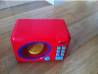Early Learning Till and Marks & Spencer's toy oven - sold as a set.