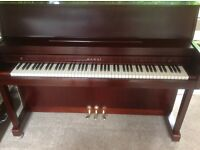Kawai Upright Piano Mahogany Satin with matching stool