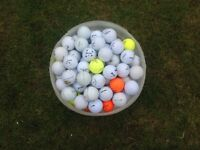 150 plus Bucket of used golf balls all makes.
