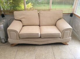 Two seater sofa good condition small repair on arm ( see photo )