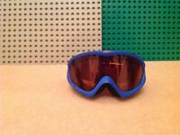 Tog 24 youth ski googles, blue with orange lens