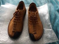 Men's handmade vintage casual loafers