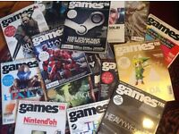 """Approx 100 issues of """"Games"""" magazine"""