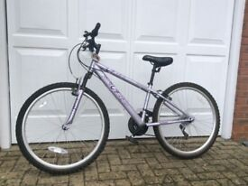 Girls Shimano Bike