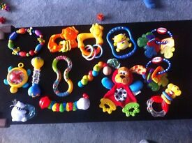 Infant toys and teethers