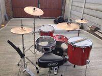 premier royale 1982 concert tom drum kit with extras!