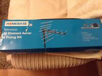 television 32 element aerial & fixing kit