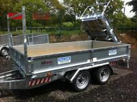 Trailer Dale Kane 10x5,6 fully welded flatbed trailer 3 ton
