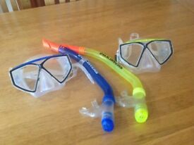 US Divers Junior Snorkel's and Masks