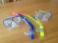 US Divers Junior Snorkel's and Masks