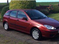 2003 Ford Focus *** FULL YEAR'S MOT *** FULL SERVICE HISTORY ***
