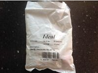 Ideal central heating pressure relief valve BRAND NEW IN PACKET