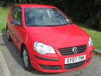UNDER OFFER - Available 23/08/2018 - Polo E 55, 3door, 5speed, Flash Red, Anthracite Cloth. VGC