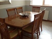 Ducal Dining Room Table and Chairs