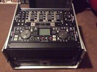 Denon HD2500 + BU4500 CD Drawers & X500 Mixer