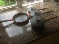 Cast pans