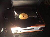 Darren's vintage record player